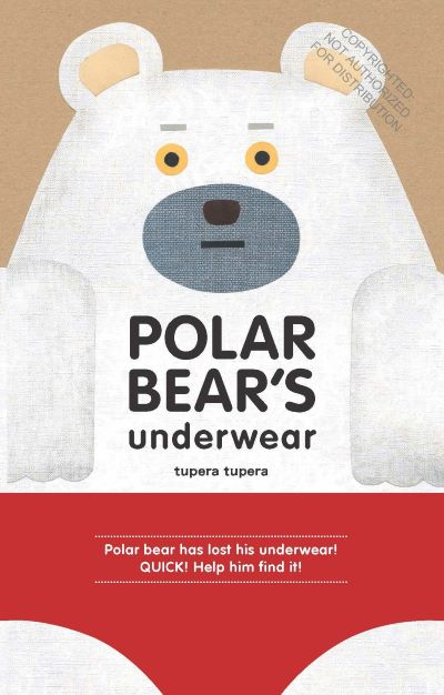 polar bear's underwear book cover
